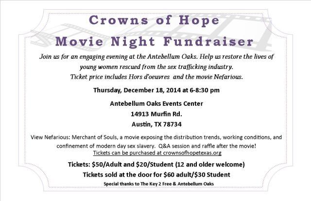 Movie Fundraiser